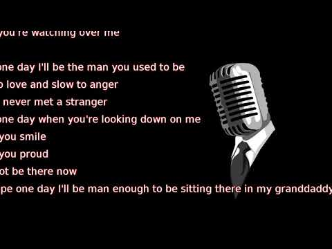 Kane Brown - Granddaddy's Chair (lyrics)