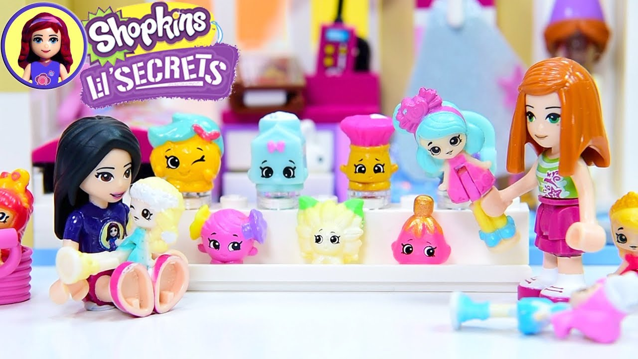 Lil Secrets Teeny Tiny Shopkins Collection Build for Lego Friends Violet -  Kids Toys