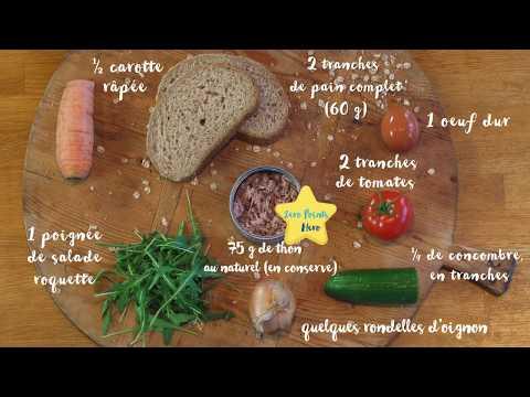 les-recettes-de-weight-watchers:-sandwich-aux-légumes-et-au-thon.