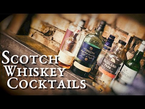 Scotch Whiskey Cocktails