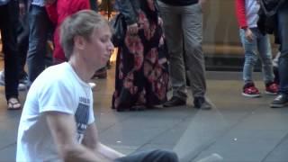 The Fastest Street Drumming Ever - Sydney Australia HD (Pt 2)