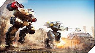 БИТВА РОБОТОВ В МЕГАПОЛИСЕ - War Robots. Игры на андроид.