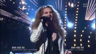 Dynazty Land Of Broken Dreams Live Melodifestivalen 2012, February 25th