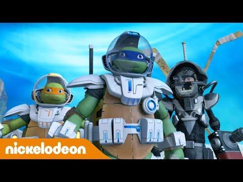🇲🇽  Las Tortugas Ninja   Nunca le des la mano a un salamandriano   Nickelodeon en Español