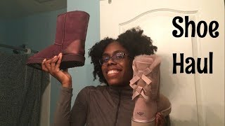 I got Uggs for $30!! shoe Haul part 2!! | ThisFashionista