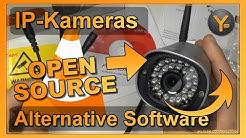 IP-Kameras ohne Hersteller-Software nutzen | VLC Player & Opensource Alternativen (PC/Android/iOS)