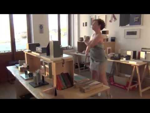 Impro Judith Kazmierczak, expo Roel Goussey chez Flux