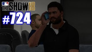 I ACCIDENTALLY DEMANDED A TRADE! | MLB The Show 18 | Road to the Show #724