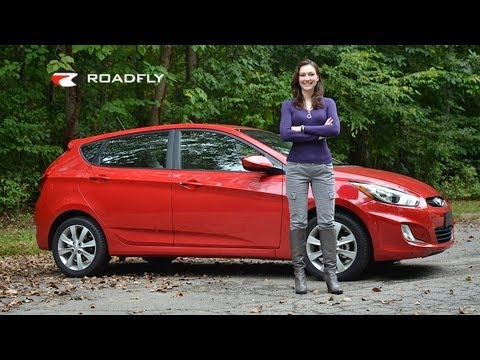 Hyundai Accent 2012 Test Drive Car Review by RoadflyTV with Elizabeth Kreft