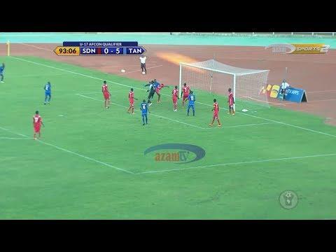 HIGHLIGHTS: SUDAN 0-5 TANZANIA (CECAFA U17 AFCON QUALIFIER)
