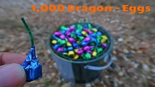 จุดไข่มังกร 1000อัน พร้อมกัน!!