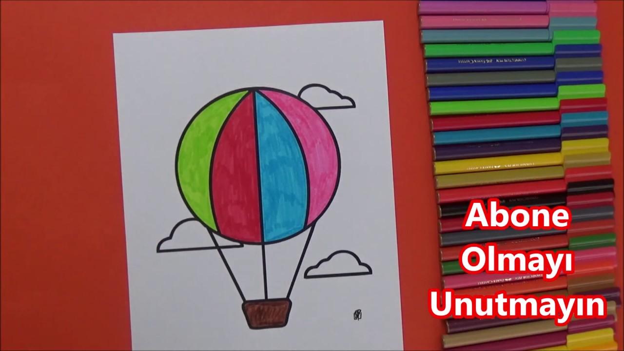 Ucan Balon Boyama Youtube