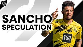 Jadon Sancho Bid Speculation | Grealish Price Set | News At Old Trafford