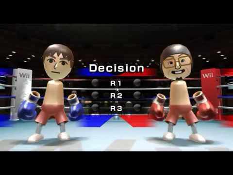 Boxing & Tennis Wii Sports GamePlay - Dolphin Emulator 4.0