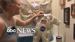 Dad Turns Baby Daughter's Onesie Into Astronaut Outfit