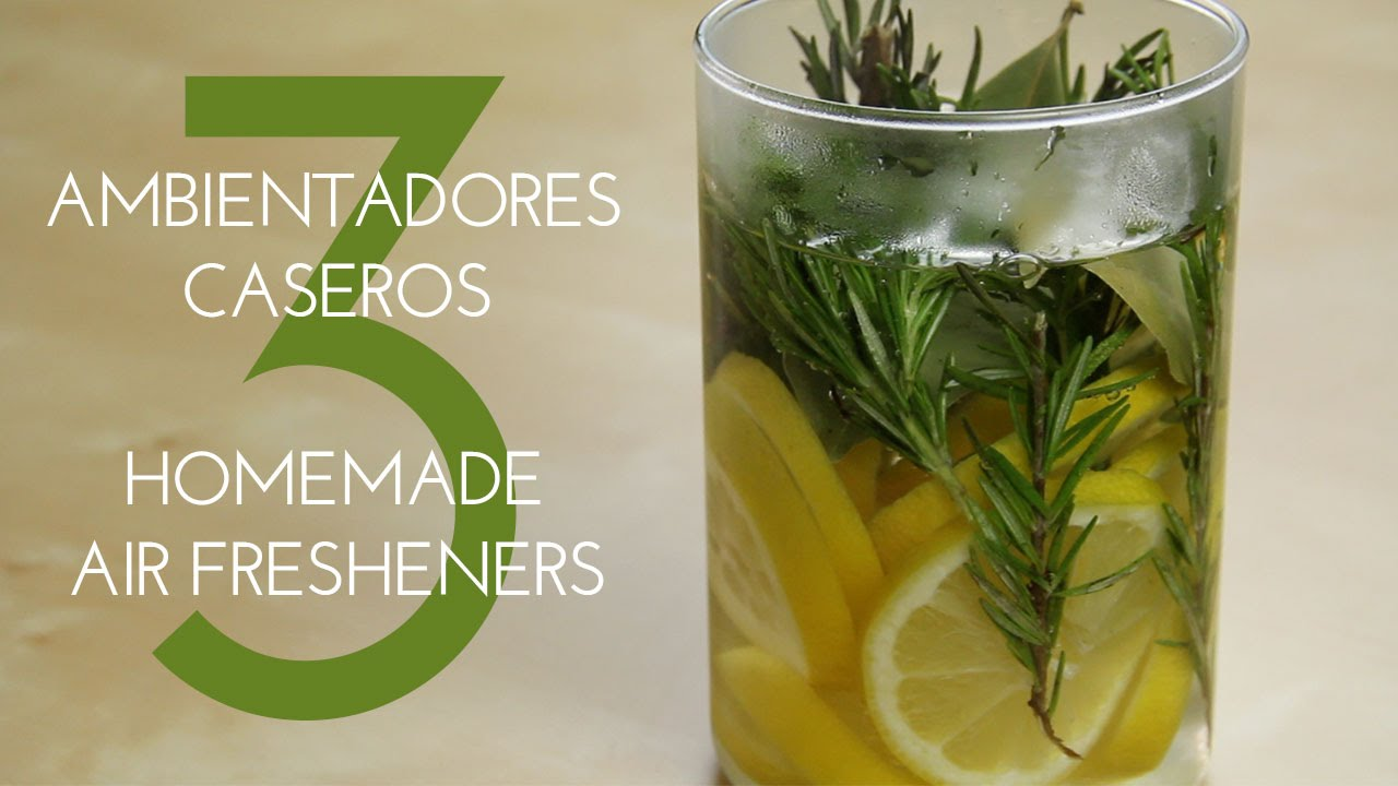 Ambientadores Caseros Para El Hogar 3 Homemade And Natural Air Fresheners