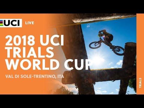 """2018 UCI Trials World Cup - Val di Sole Trentino (ITA) - Men Elite 20"""""""