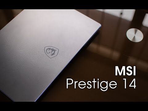 Compact Creator Powerhouse. - MSI Prestige 14 A10RB Review