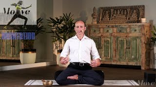 MOVE123 Meditation Basic - 10min How to practice Presencing