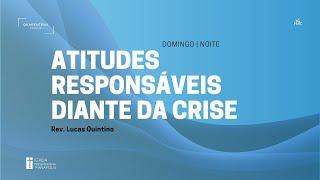 Culto Noturno (29/03/2020) - Tiago 4:13-17 - Pr. Lucas Quintino