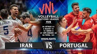 Iran vs Portugal     Match Highlights   Men