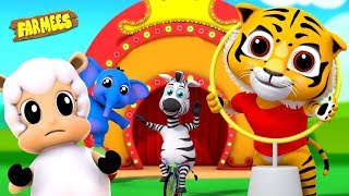 Eeny Meeny Miny Moe | Ptreschool Nursery Rhymes | Song and Videos For Kids by Farmees