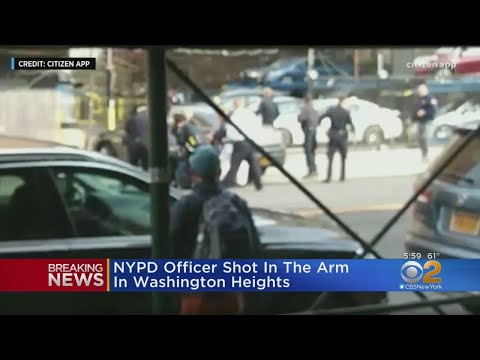 NYPD Officer Shot In Washington Heights