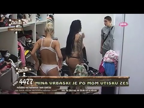 ZADRUGA- MACA POKAZUJE GOLE GRUDI I BRADAVICE 18+ !!!! - YouTube