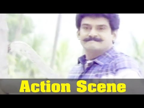 Thamarai Movie : Napoleon, Action Scene
