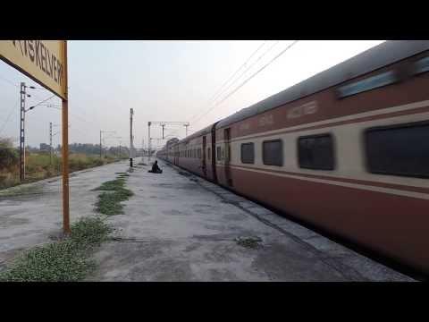 High Speed Diesel Engine Train in Action...