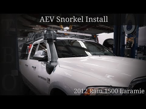 AEV Snorkel: How to Install – Dodge RAM 1500