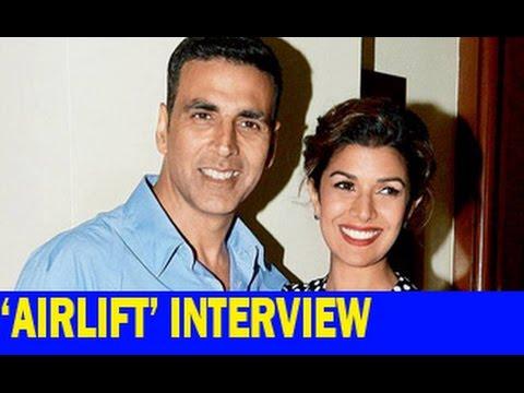 Akshay Kumar & Nimrat Kaur talk about ''Airlift''   Interview   Feryna Wazheir