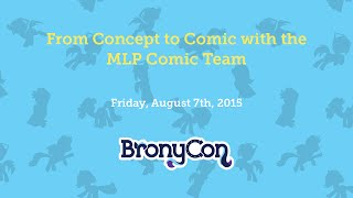 From Concept to Comic with the MLP Comic Team