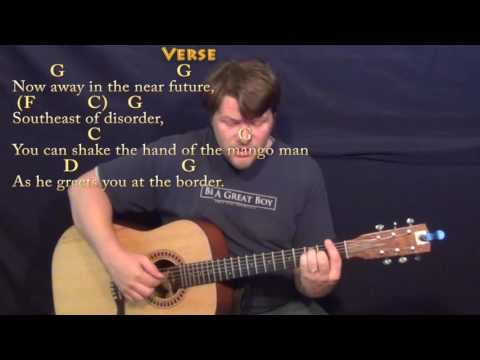 Son of a Sailor (Jimmy Buffett) Fingerstyle Guitar Cover Lesson with Chords/Lyrics