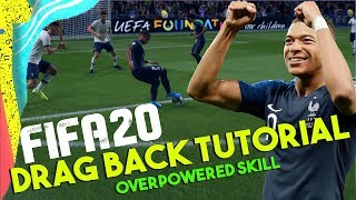 FIFA 20 Drag Back Tutorial | How to Drag Back in FIFA 20 | Most Overpowered FIFA 20 Skill Move