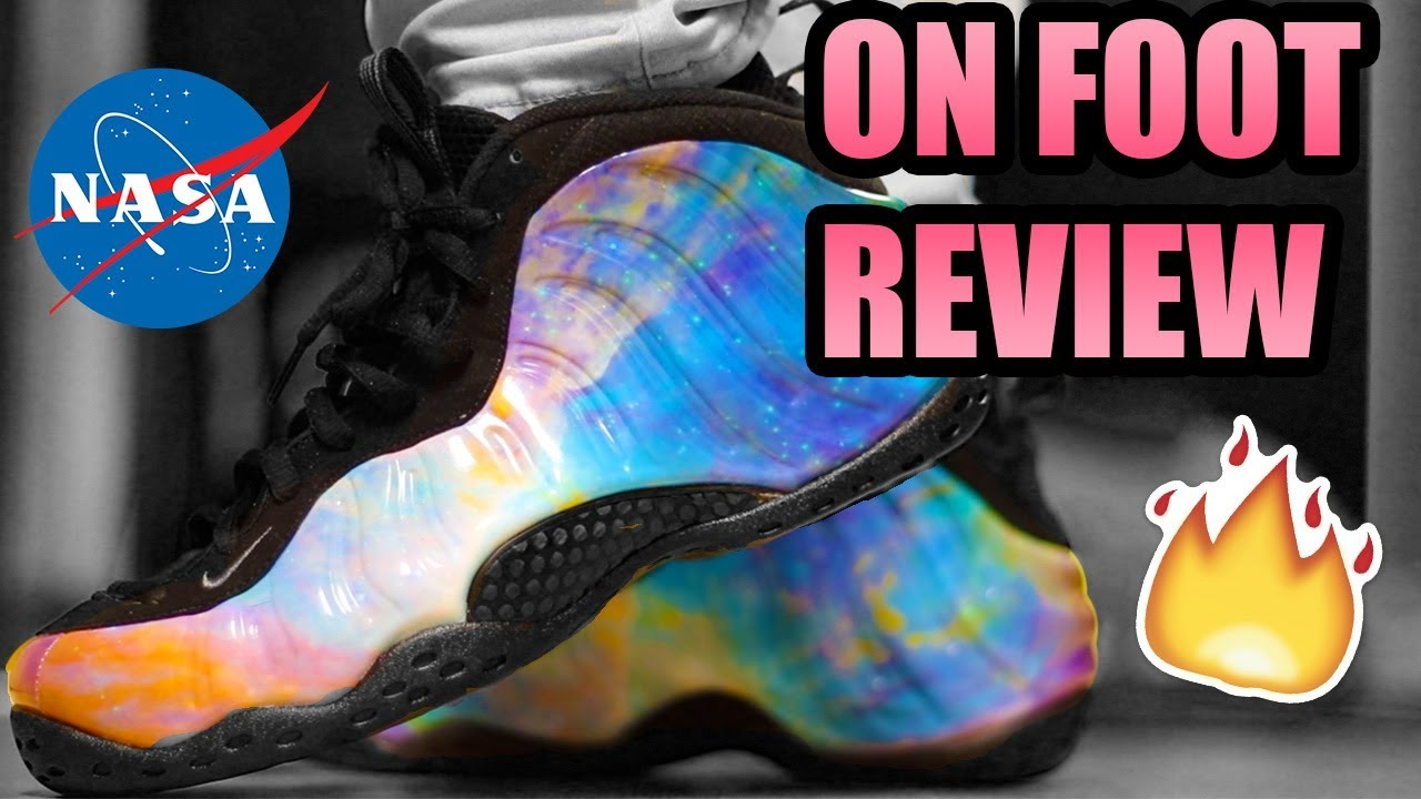 the latest 68f72 31a3d BIG BANG FOAMPOSITE REVIEW ! | Big Bang Foams On Feet ! | ( ALTERNATE  GALAXY FOAMPOSITE REVIEW )
