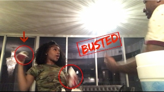 CHEATING PRANK ON GIRLFRIEND ( GONE VIOLENT) SHE PUT ME OUT !