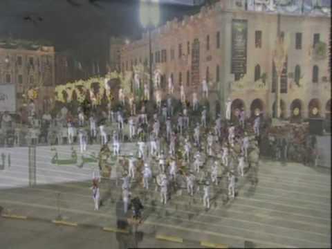 Demo part three.  World Military Music Festival in Libya, Tripoli September 1st-4th 2009