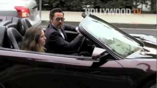 Robert Downey Jr. brings S.H.I.E.L.D. security to