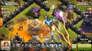 Clash of Clans - Trollando Noobs!!