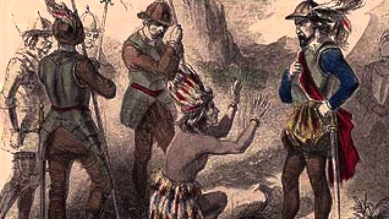 spanish conquest of south america 2 essay Compare the native american culture the spanish encountered in mexico what general pattern of spanish conquest does las casas present in a brief account.