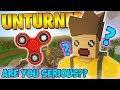 UNTURNED FIDGET SPINNERS?? (Unturned Funny Moments)