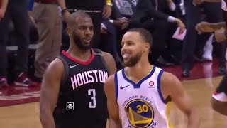Chris Paul SHIMMY DANCES Steph Curry Game 5 Warriors vs Rockets