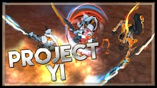 PROJECT Yi - Skin Spotlight - League of Legends Project Master Yi Skin