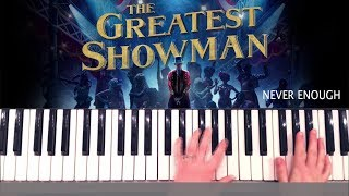 The Greatest Showman Never Enough Piano Tutorial and Chords Video