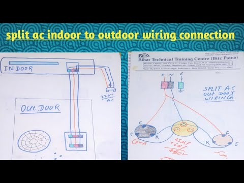 splitacwiringdiagram split ac wiring diagram split ac
