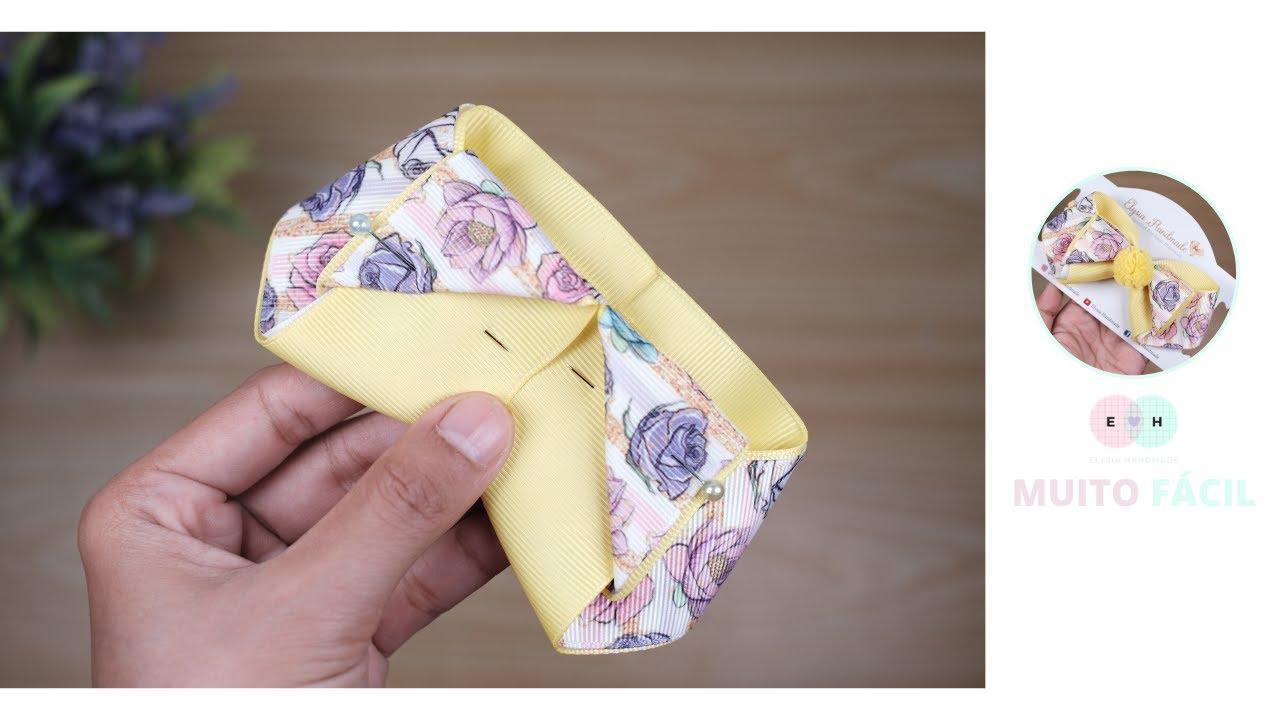 Laço amarelo adorável adorável - super fácil se você quiser fazer | Elysia Handmade