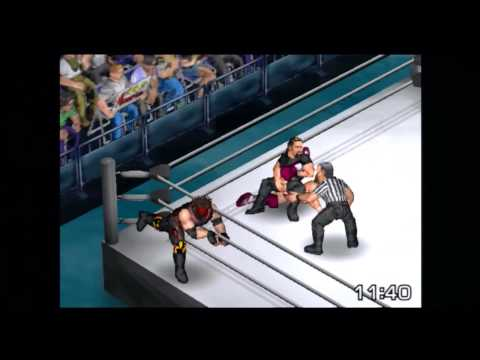 Fire Pro Wrestling Returns: Team Hell No vs The Shield