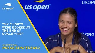 Emma Raducanu Press Conference | 2021 US Open Quarterfinal