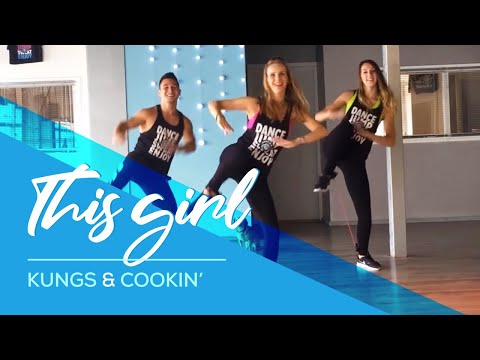 "Kungs vs Cookin"" - This Girl - Fitness HipNThigh Excercise - Dance"